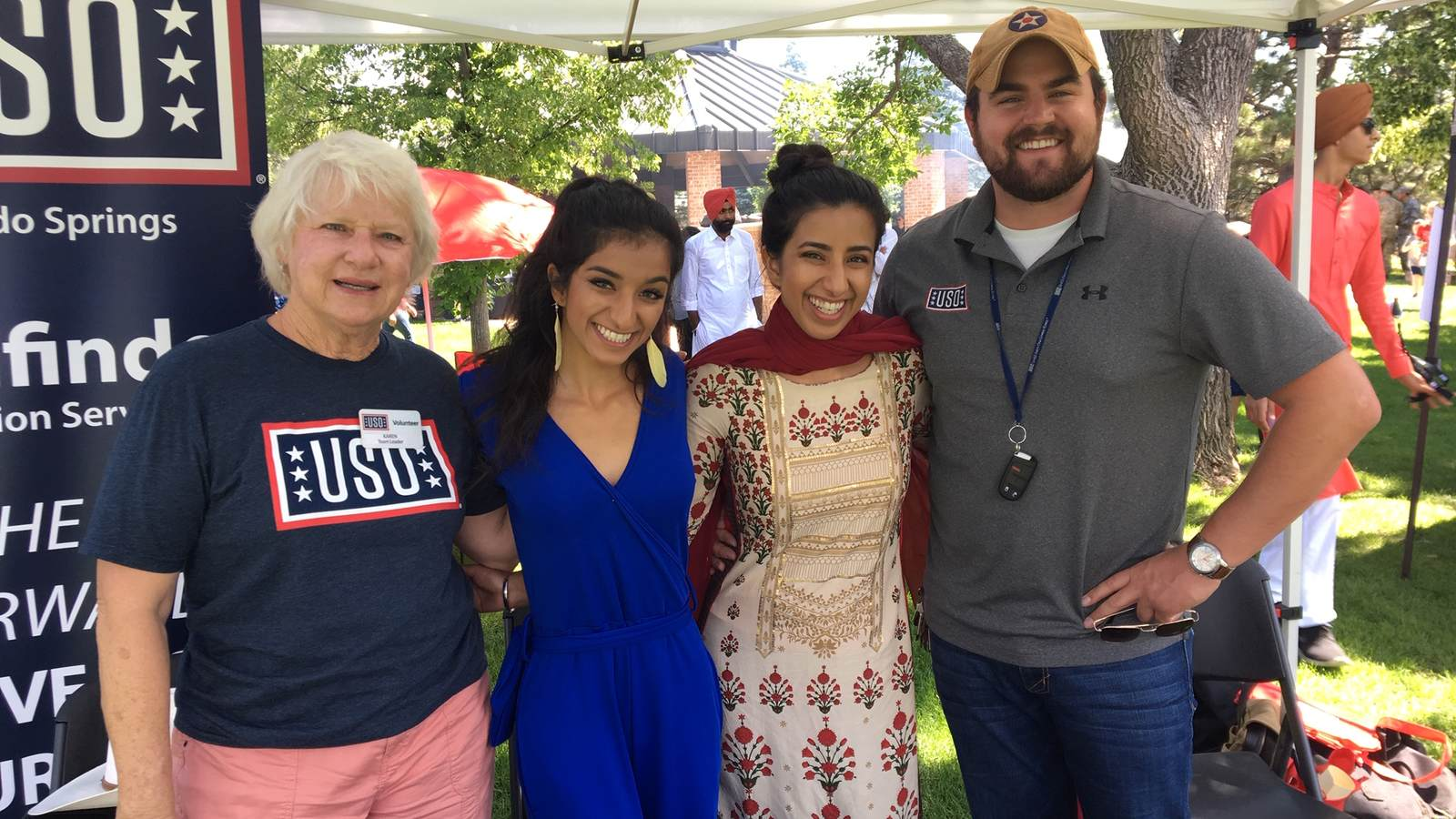 USO Attends 302nd Air Wing Family Day • USO Colorado Springs